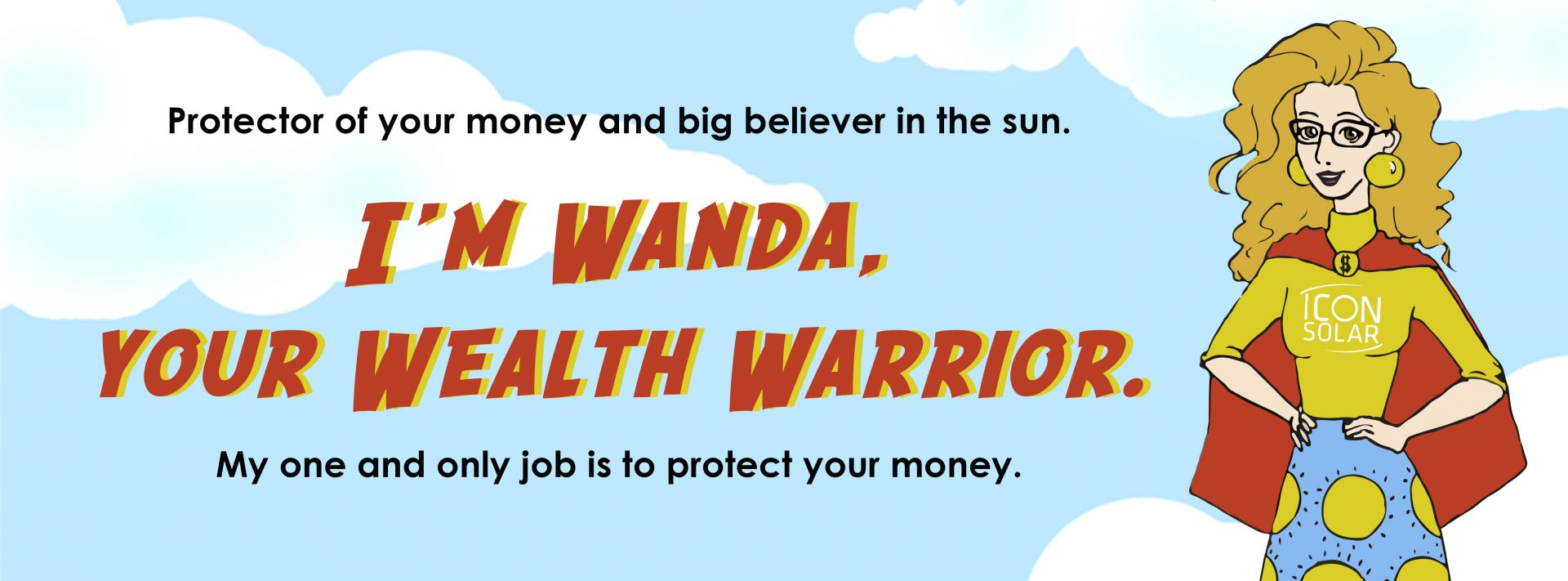Wanda Wealth Warrior slide