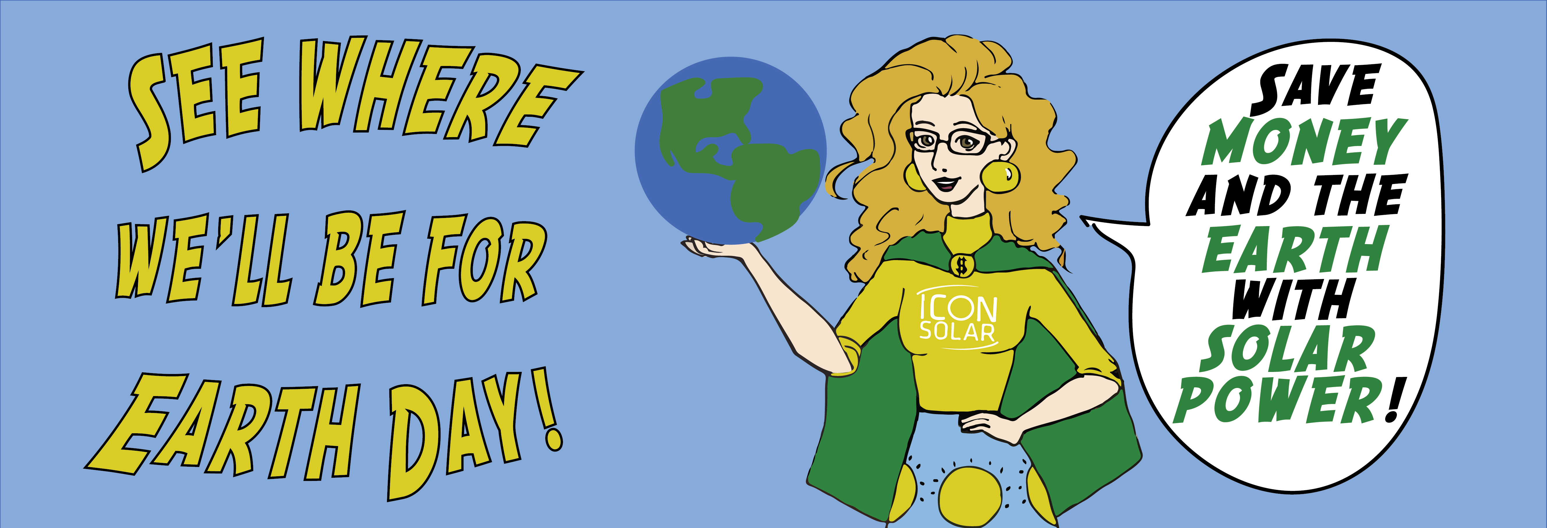 Celebrate Earth Day with Icon Solar