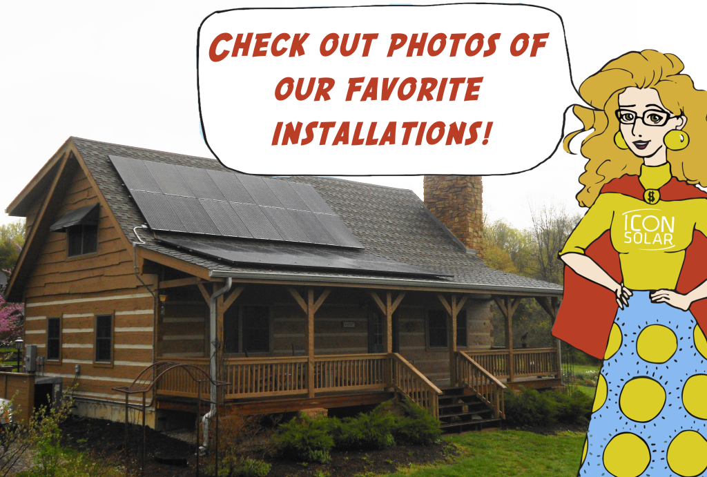 Icon Solar Installation Photo Gallery