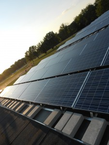 commercial solar panels in Springboro