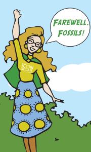 Farewell, fossils!
