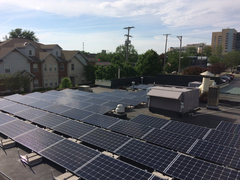 Icon Solar's installation at Flanagan's Pub in Dayton, Ohio