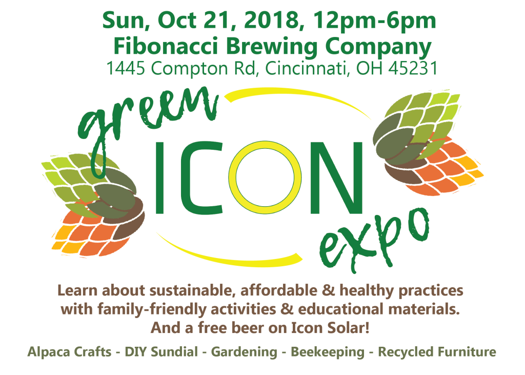 Green Icon Expo 5x7