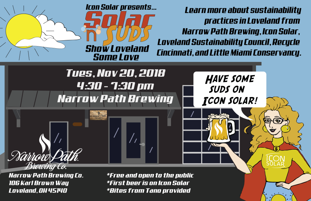 Solar 'n' Suds at Narrow Path Brewing, Nov 20, 2018