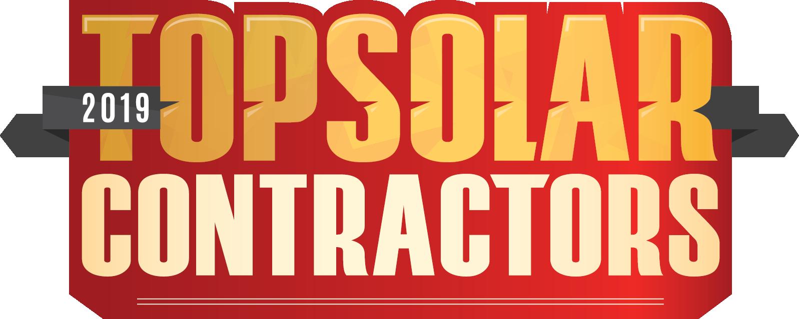 Top Solar Contractors logo 2019